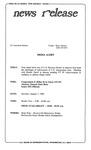 News Release - 1995-01-07 by E. De la Garza