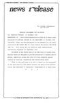 News Release - 1994-12-21 by E. De la Garza