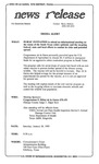 News Release - 1995-01-28