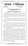News Release - 1994-12-28 by E. De la Garza