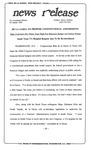 News Release - 1995-01-03 by E. De la Garza