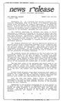 News Release - 1995-08-03b