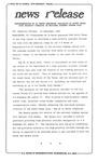 News Release - 1995-09-20b by E. De la Garza