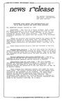 News Release - 1995-10-23 by E. De la Garza
