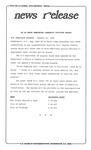 News Release - 1996-01-25 by E. De la Garza
