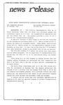 News Release - 1995-10-25 by E. De la Garza