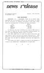 News Release - 1996-09-24 by E. De la Garza
