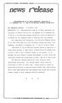 News Release - 1995-11-17a by E. De la Garza