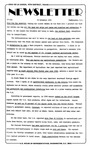 Newsletter - 1981-11-19