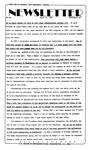 Newsletter - 1984-03-22