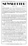 Newsletter - 1985-01-24