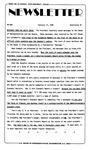Newsletter - 1985-02-21