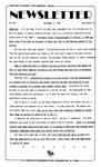 Newsletter - 1985-09-05