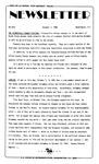 Newsletter - 1985-10-07