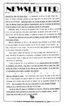 Newsletter - 1985-10-17