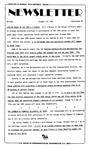 Newsletter - 1985-10-24
