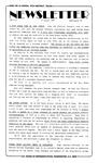 Newsletter - 1987-08-13
