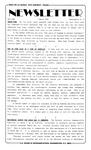 Newsletter - 1991-03-07