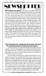 Newsletter - 1993-01-12