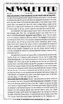 Newsletter - 1993-07-29