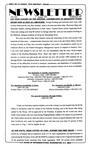Newsletter - 1993-08-05