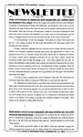Newsletter - 1993-08-12 by E. De la Garza