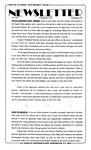 Newsletter - 1993-09-09