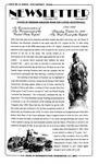 Newsletter - 1993-11-03