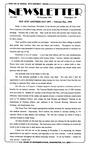 Newsletter - 1994-11-09 by E. De la Garza