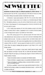 Newsletter - 1995-07-06 by E. De la Garza
