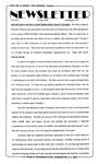 Newsletter - 1995-07-20 by E. De la Garza