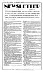 Newsletter - 1995-07-27
