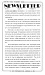 Newsletter - 1995-08-03