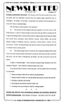Newsletter - 1995-11-30
