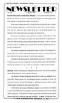 Newsletter - 1996-02-22