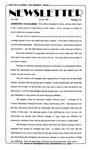 Newsletter - 1996-07-18