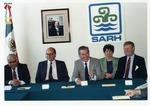 Photograph of Kika de la Garza with members of Secretaría de Agricultura y Recursos Hidráulicos of Mexico