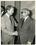 Photograph of Kika de la Garza with President Jimmy Carter