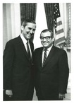 Photograph of Kika de la Garza and United States Senator, Lloyd Bentsen