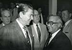 Photograph of Kika de la Garza with President Ronald Reagan