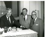 Photograph of Kika de la Garza with Speaker of the United States House of Representatives, Tom Foley and Secretary of Agriculture, Bob Bergland