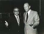 Photograph of Kika de la Garza with President Gerald R. Ford