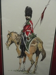 Mexican Army Grenadier drawing