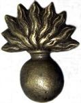 "Mexican Army Grenadier Company emblem ""Buena Vista bomb"" - variant"