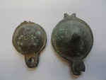 Mexican Army San Jose and Venegas pendants