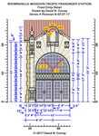 Missouri Pacific Brownsville Depot Plans - Front entry detail