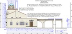 Missouri Pacific Brownsville Depot Plans - Right side elevation