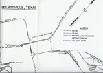 Missouri Pacific and Southern Pacific Brownsville track diagrams