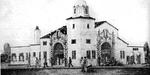 Pensacola Frisco station architect drawing