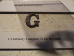 U.S. Army Infantry Company G hat insignia
